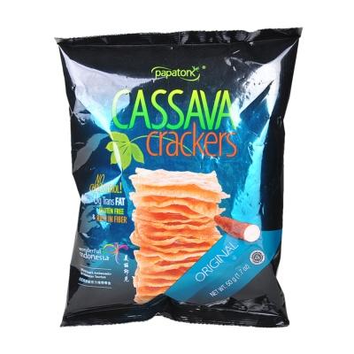 Papatonk Cassava Crackers Original 50g