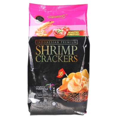 Papatonk Shrimp Crackers (Roasted Tomatoes) 85g