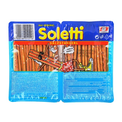 Soletti Salted Sticks Blister 175g