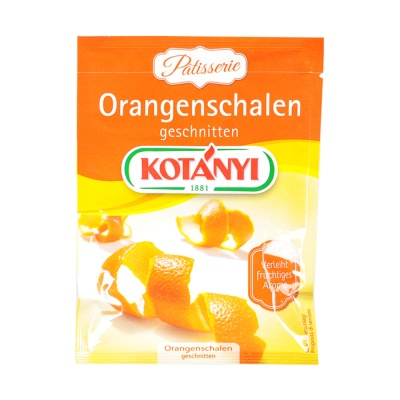 Kotanyi Orangenschalen Geschnitten 20g