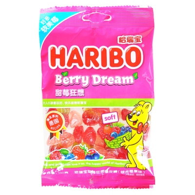 Haribo Berry Dream Soft Candy 100g