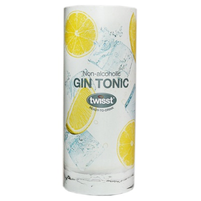 Twisst Gin Tonic Juice Drink (Non-alcoholic) 240ml