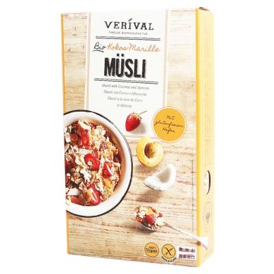 Verival Coconut&Apricots Muesli(Gluten Free) 325g