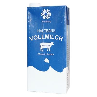 Nutriking Haltbare Full Fat Pure Milk 1L