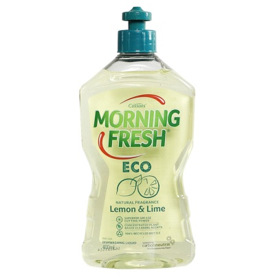 Morning Fresh Lemon&Lime Natural Fragrance Dishwashing Liquid 400ml