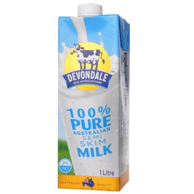 Devondle Semi-Skim Milk 1L