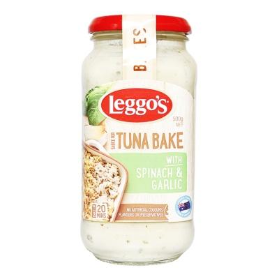 Leggo's Pasta Bake-Tuna Bake Spinach & Galic 500g
