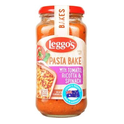 Leggo's Pasta Bake With Tomato Ricotta&Spinach 500g
