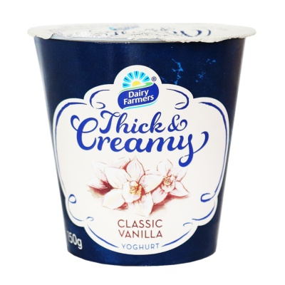 Dairy Farmers Thick Creamy Classic Vanilla 150g