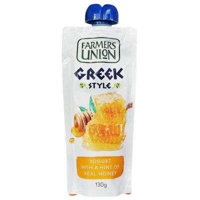 农夫联盟希腊式风味酸乳(蜂蜜味) 130g