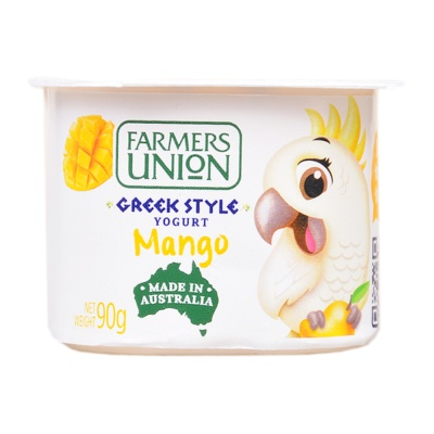 Farmers Union Greek Style Mango Yogurt 90g