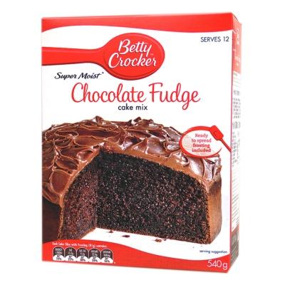 Betty Crocker Super Moist Chocolate Fudge Cake Mix 540g