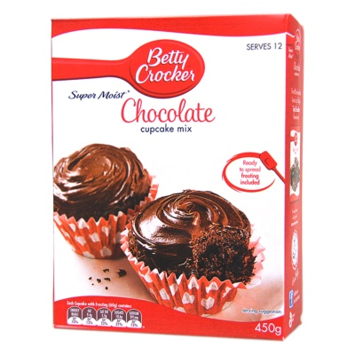 Betty Crocker Chocolate Cupcake Mix 450g