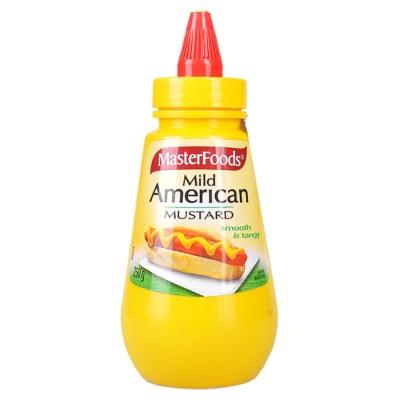 每食富方便瓶美式芥末酱 250g