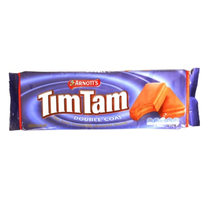 Arnott's Tim Tam Double Coat Chocolate Biscuit 200g