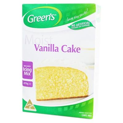 Green's Traditional Vanilla Cake Mix 470g