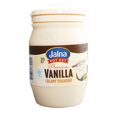 Jalna Premium Vanilla Creamy Yoghurt 500g