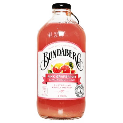 Bundaberg Pink Grapefruit Sparkling Drink 375ml