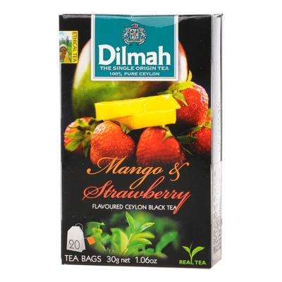 Dilmah Black Mango Strawberry Tea 20*1.5g