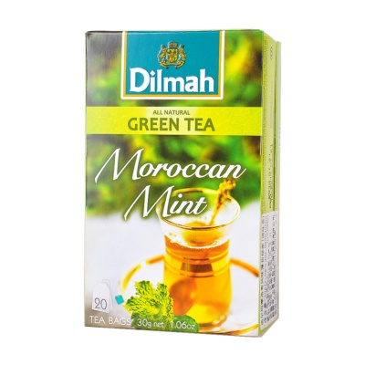 Dilmah Moroccan Mint Green Tea 20*1.5g