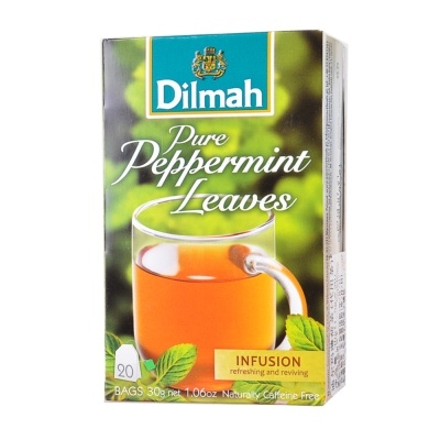 Dilmah Peppermint Infusion Tea Bags 30g