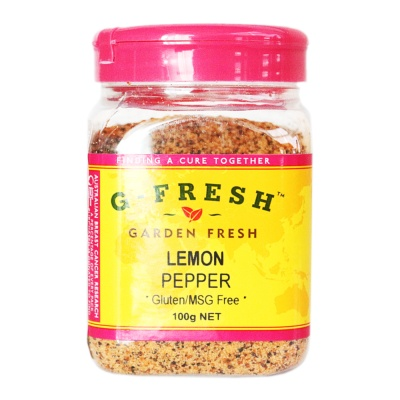 Gfresh Lemon Pepper 100g