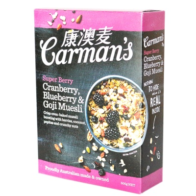 Carman's Super Berry Muesli 500g