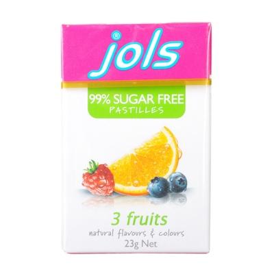 卓乐混合水果味润喉糖 25g