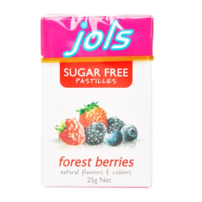 Jols Sugar Free Forest Berries Pastilles 25g