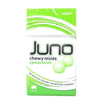 Juno Spearmint Chewy Mints 40g