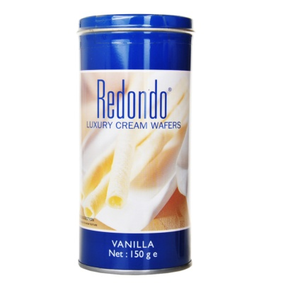 Redondo Luxury Cream Wafers Vanilla 150g