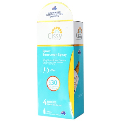 Cissy Sport Sunscreen Spray 200ml