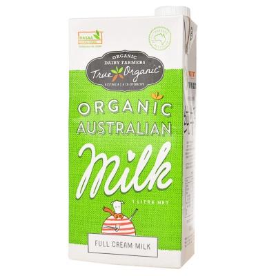 True Organic Whole Milk 1L