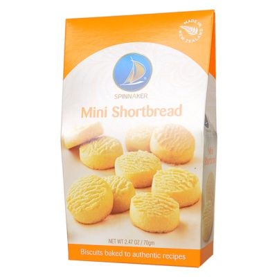 Spinnaker Mini Shortbread 70g