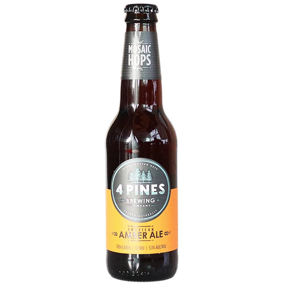4 Pines American Amber Ale 330ml