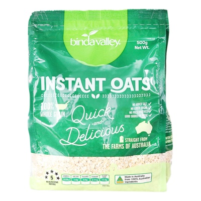 Bindavalley Instant Oats 500g