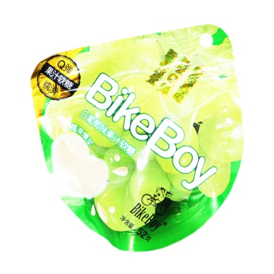 BikeBoy White Grape Flavored Soft Candy 52g