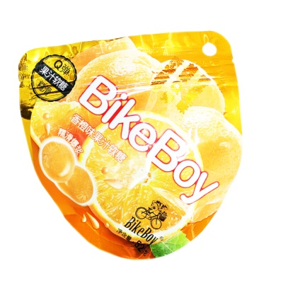 BikeBoy Orange Flavored Soft Candy 52g