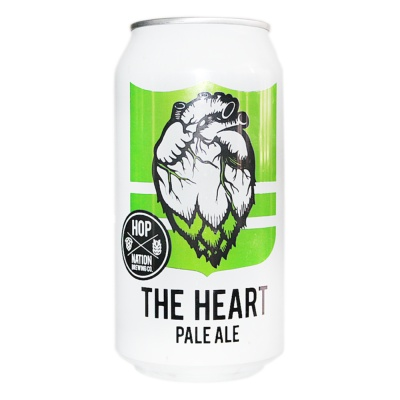 Hop Nation The Heart Pale Ale (Can) 375ml