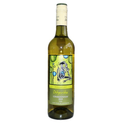 Didgeridoo Chardonnay White Wine 750ml