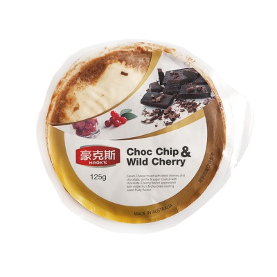 Haok's Chocolate Berry Cheese 125g