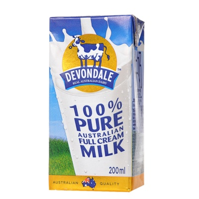Devondale Full Cream Milk 100% Pure 200ml