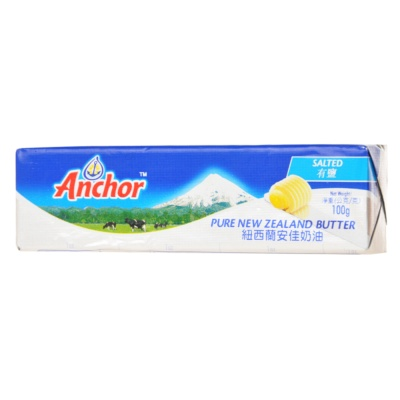 Anchor Pure New Zealand Salted Butter 100g