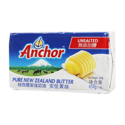 Anchor Pure Unsalted Butter 454g
