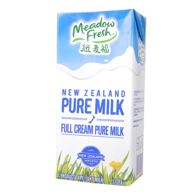Meadow Fresh Whole Milk 1L