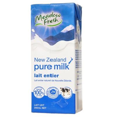 Meadow Fresh Full Cream Pure Milk 250ml