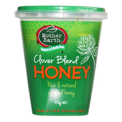 Mother Earth Clover Blend Honey 450g