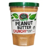 Mother Earth Natural Peanut Butter Crunchy 380g - 1