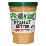 Mother Earth Natural Peanut Butter Crunchy 380g - __[GALLERYITEM]__