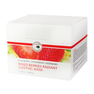Ukiwi Mixed Berries Radiant Sleeping Mask 100ml